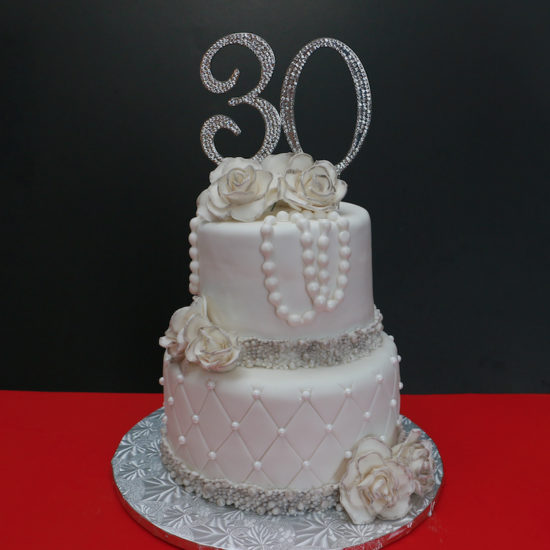 strawberry shortcake red velvet anniversary cake